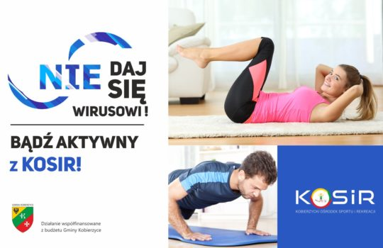 Ćwicz z KOSiR i Telewizją Echo24 online!