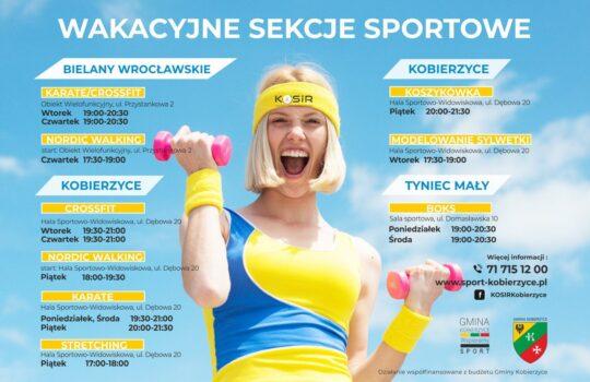 Wakacyjne sekcje sportowe KOSiR