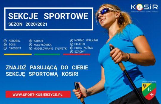 Sekcje sportowe sezon 2020/2021
