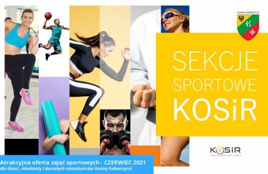 Sekcje sportowe KOSiR